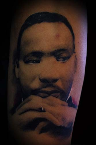 Looking for unique Joshua Carlton Tattoos?  Martin Luther King